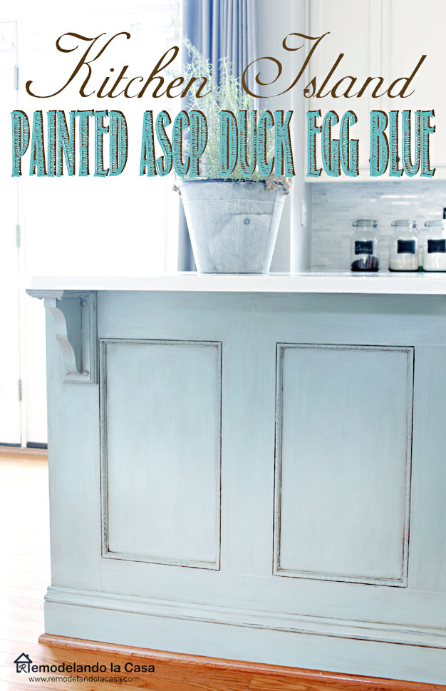 kitchen makeover with ASCP, Glaze and wax for an old look.