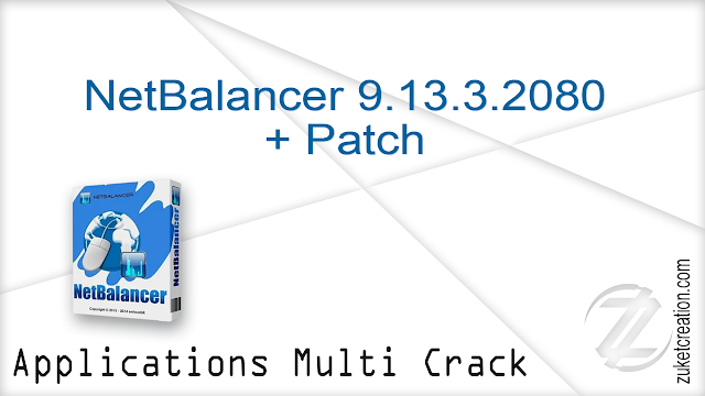 NetBalancer 9.13.3.2080 + Patch