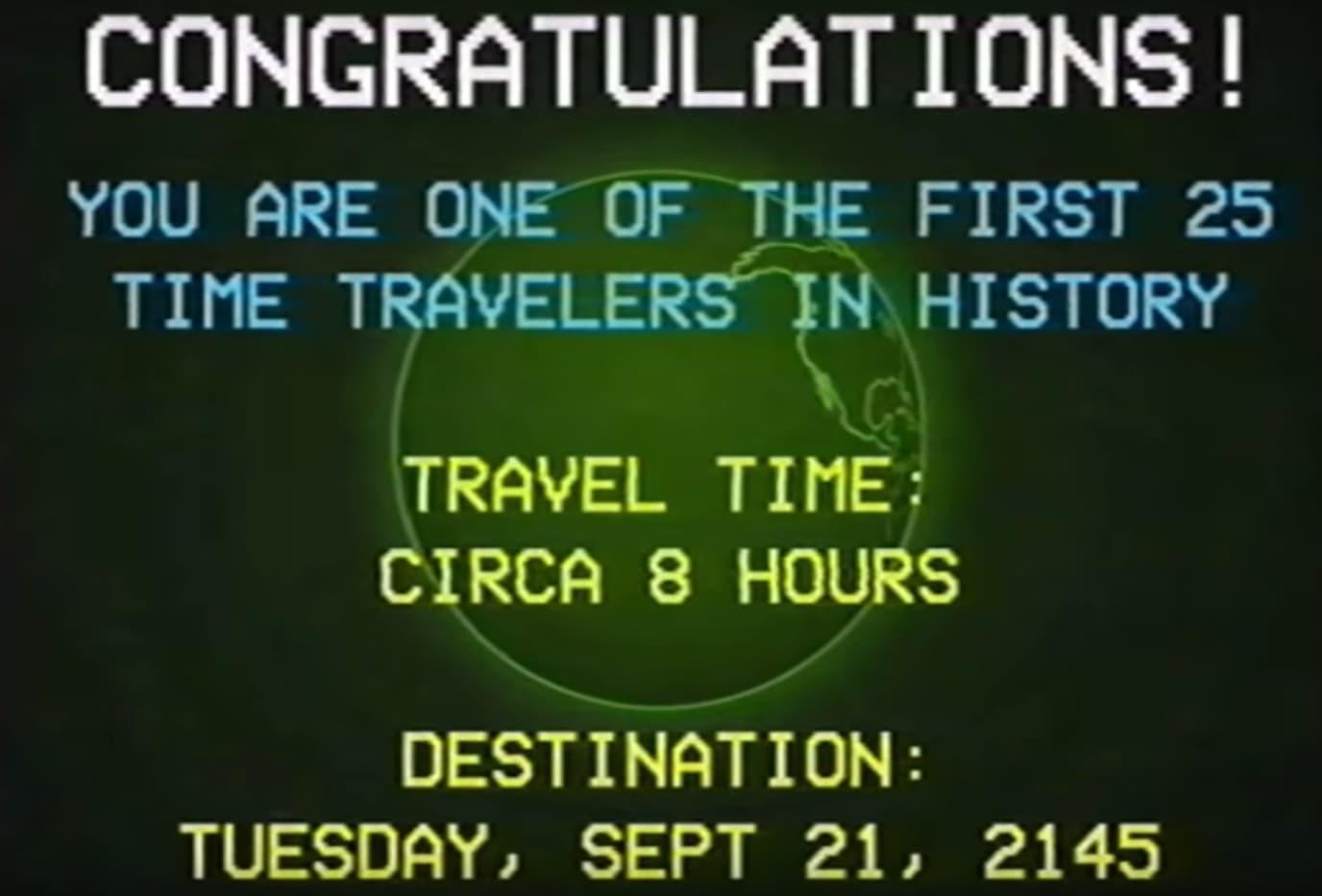 Eine Anleitung für Zeitreisende   Time Travel Instructional Video