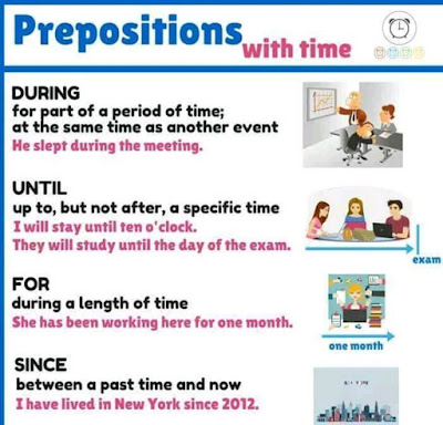 Preposition With Time