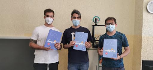 CEPA Distrito Centro colabora con la organización Ayúdame3D para el uso social de las impresoras 3D