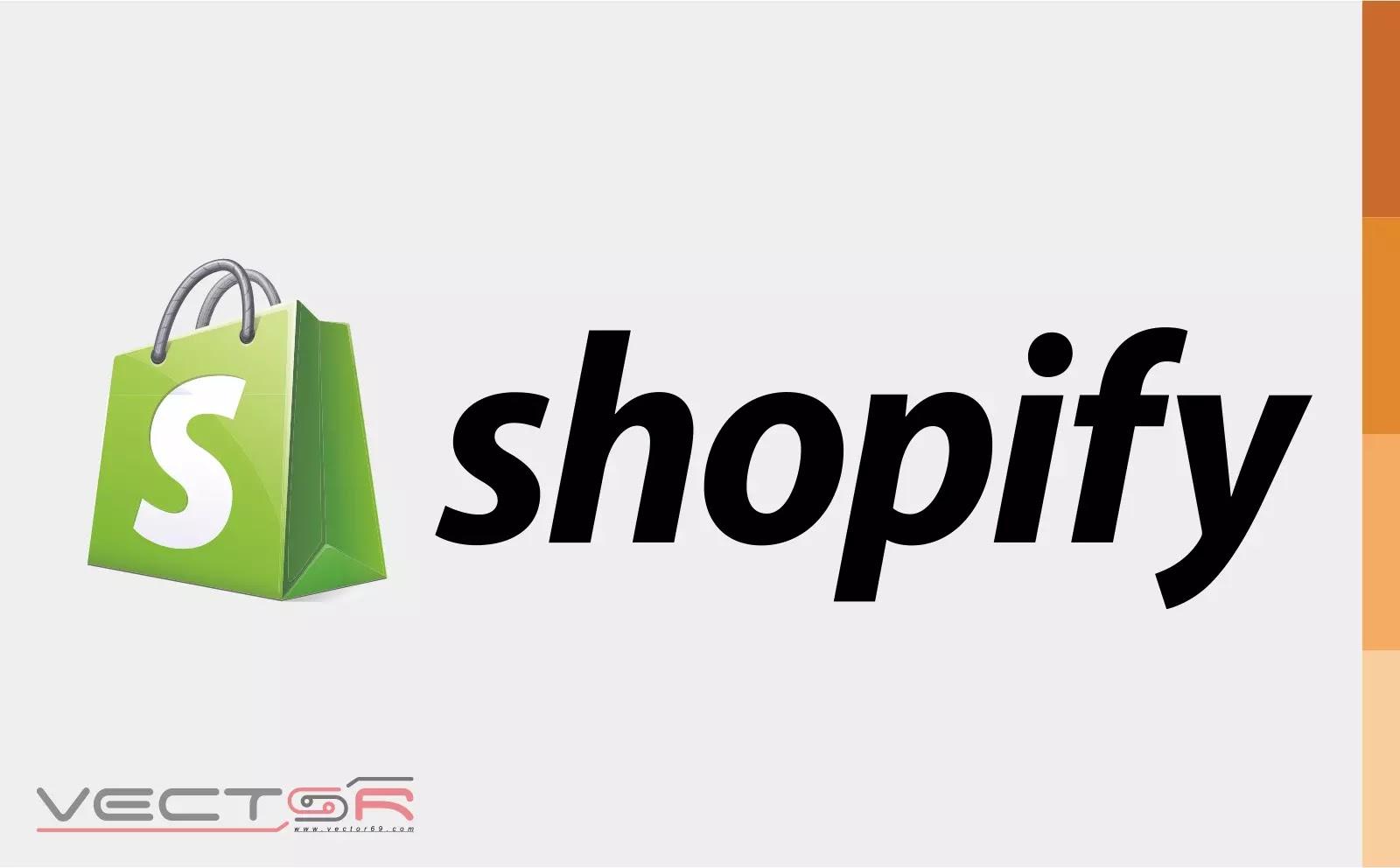 Shopify (2006) 3D Logo - Download Vector File AI (Adobe Illustrator)