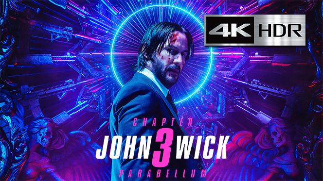John Wick 3: Parabellum (2019) 4K UHD [HDR] Latino-Castellano-Ingles