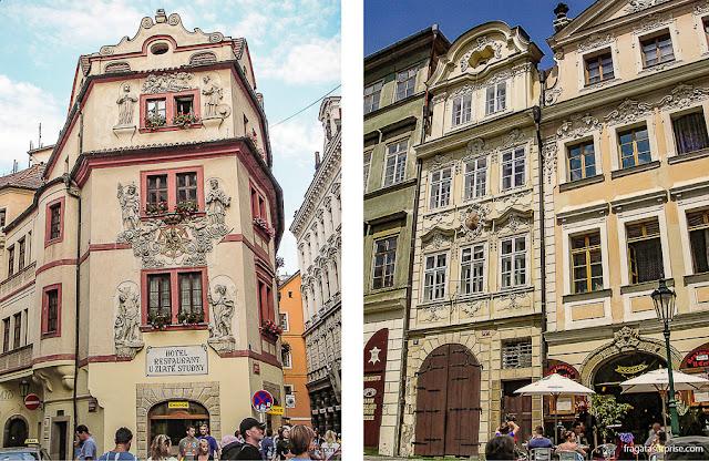 Mala Strána, bairro histórico de Praga, na República Tcheca