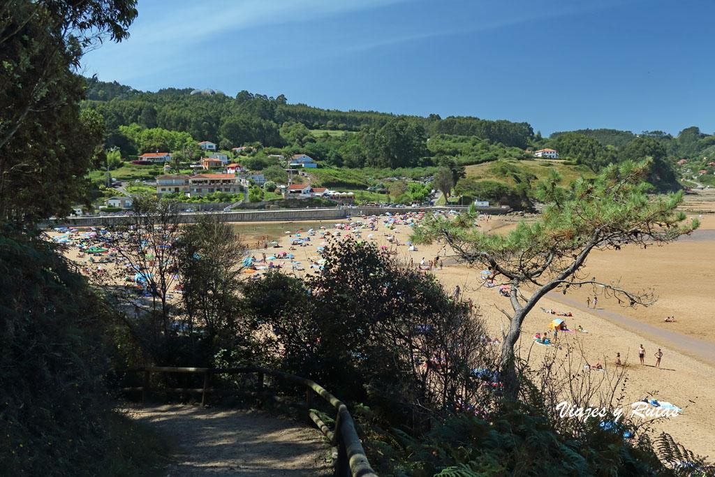 Playa La Griega, Asturias