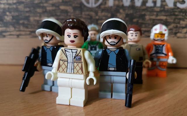 Принцесса Лея, повстанцы, лего, Звездные войны