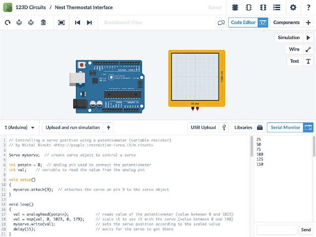 autodesk arduino simulator online
