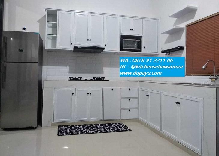 Kitchen Set Aluminium Sidoarjo Order di 0878 91 2211 86