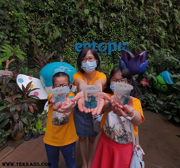 Entopia Penang Vita Nova Butterfly Release
