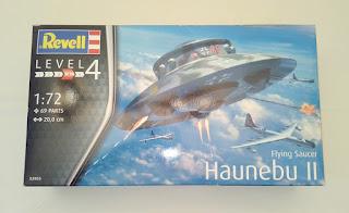 Flying Saucer Haunebu II de Revell