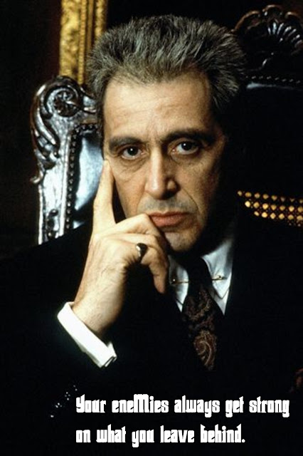 The godfather 3 quotes, escapematter