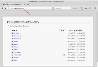 Konfigurasi FTP server pada OS Linux