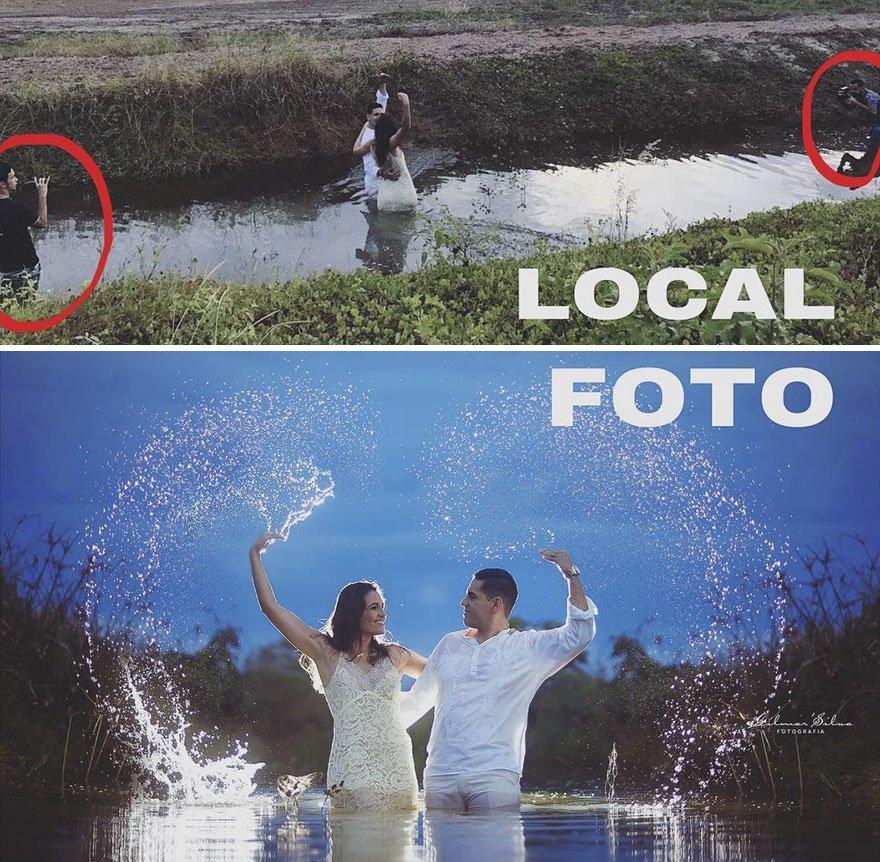Fotógrafo reveló sus trucos detrás de cada retrato