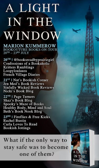 French Village Diaries book review A Light in the Window Marion Kummerow books-on-tour