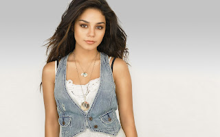 Hollywood actress Vanessa Hudgens in jeans