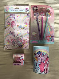 My Little Pony Exclusive stationary at Home Bargains