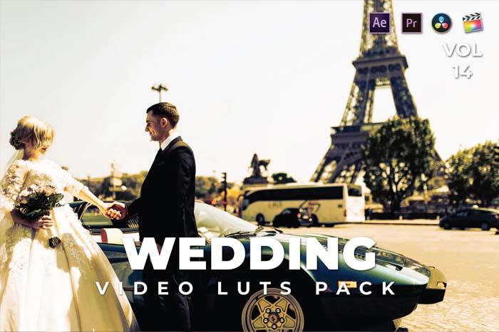Wedding Pack Video LUTs Vol.14
