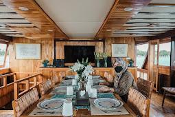 Ini Tampilan Kapal Agustine Phinisi sebagai Daya Tarik Wisata Baru