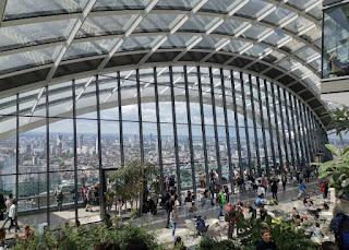 Londres, Sky Garden.