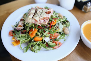 Twelve Healthy and easy taste and fast salad recipe with their step by step preparation methods