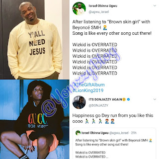 Don Jazzy Replies Man Who Says Wizkid Is Overrated