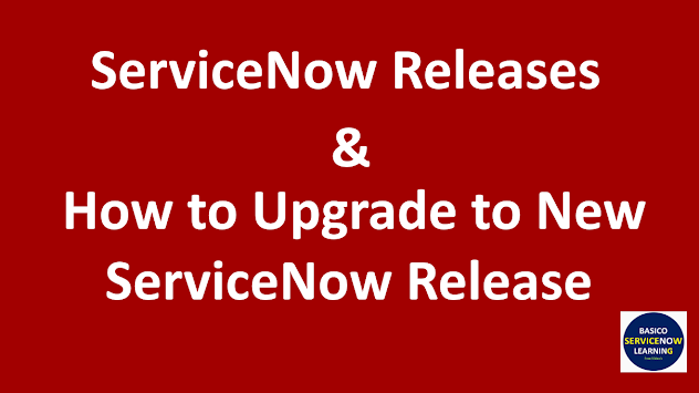 Servicenow latest version, servicenow new releases, servicenow upcoming version, servicenow new version