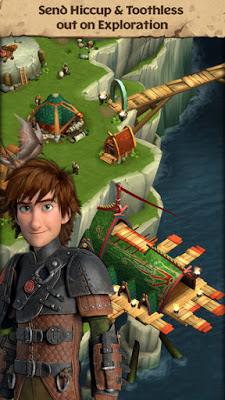تحميل لعبة المغامرات الشيقة Dragons: Rise of Berk نسخة مهكرة
