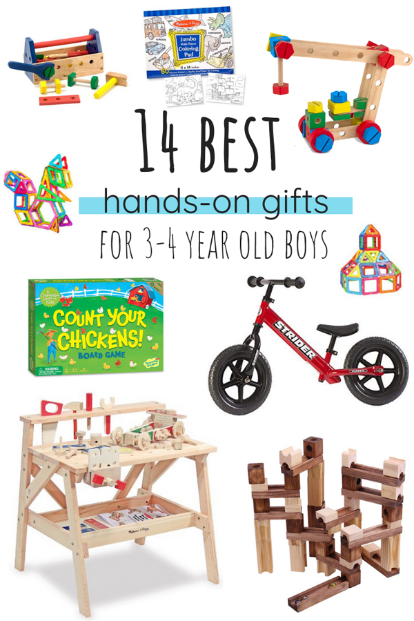 14 best hands-on gifts for 4 year old boys