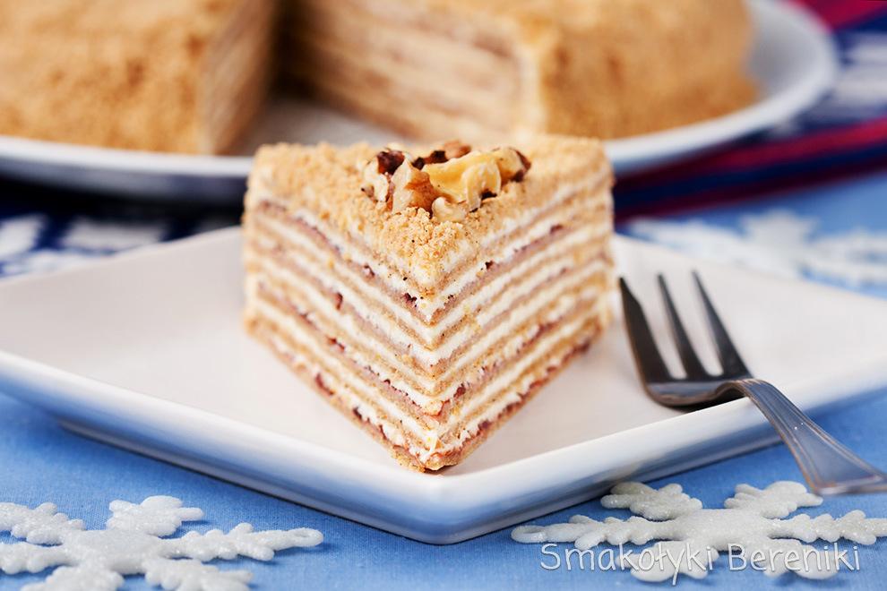 tort korzenny na święta