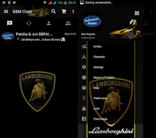Screenshot bbm mod lamborghini