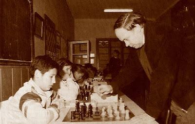 Jaume Anguera en simultáneas en 1988