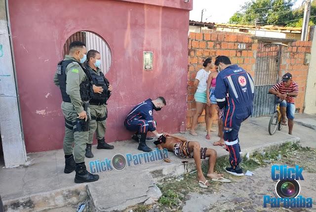 Homem leva facada no peito durante briga no bairro são Vicente de Paula