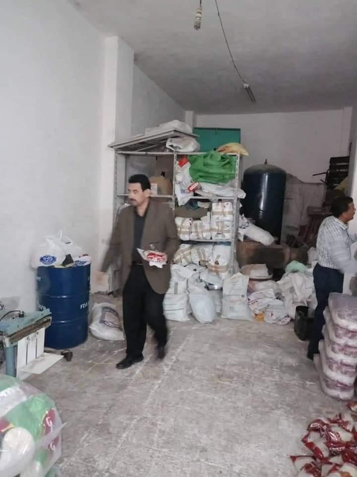 ضبط مصانع غير مرخصة و20 مخبز مخالف في حملات تموينية بالبحيرة .