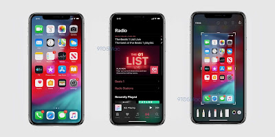 New screenshots Show Dark Mode in iOS 13