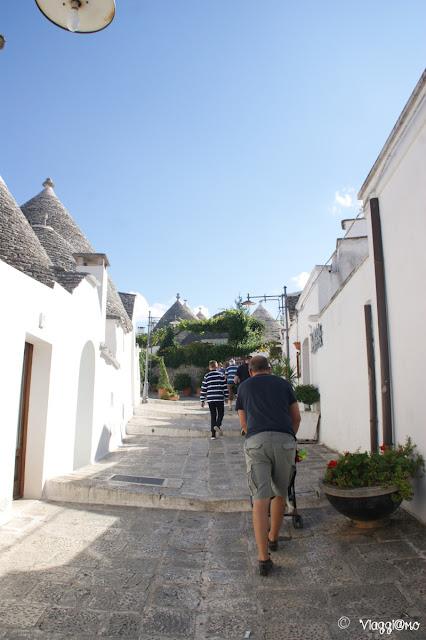 Alberobello - vie del centro