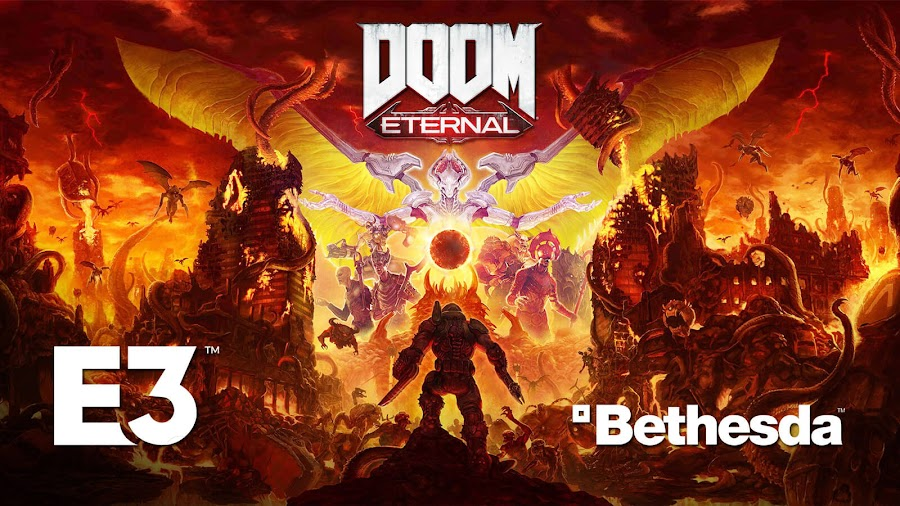 doom eternal release date e3 2019 id software bethesda softworks