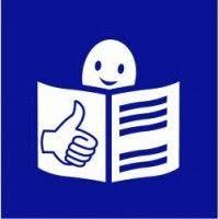 Icono de documento de lectura facil