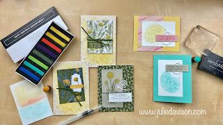 VIDEO: Tips for Using Stampin' Up! Soft Pastels Assortment ~ www.juliedavison.com #stampinup