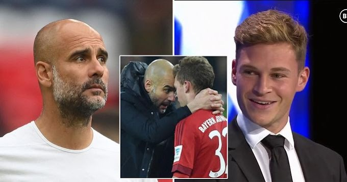 Kimmich speak highly of Guardiola: He showed me space that didn't exist for me before on the pitch