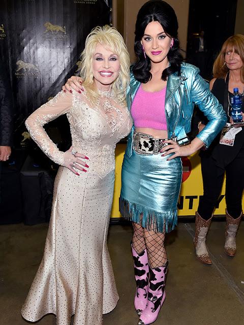 Katy Perry y Dolly Parton cantaron juntas en los Academy Country Music Awards