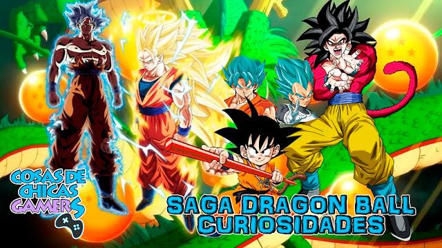 Curiosidades de la saga Dragon Ball