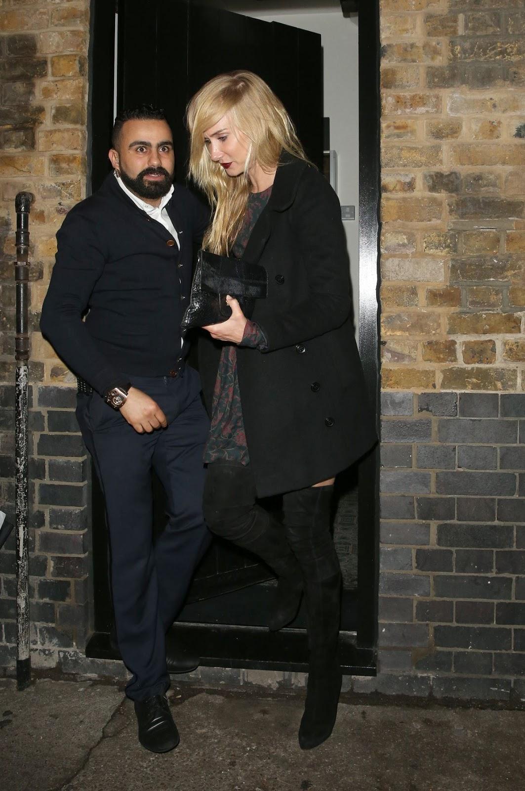 Kimberly Stewart Leaves Chiltren Firehouse In London