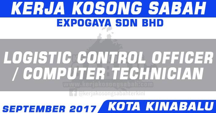 Kerja Kosong Sabah 9 2017 Computer Technician Logistic