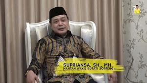 Sampaikan Ucapan ke Jokowi, Begini Kata Supriansa