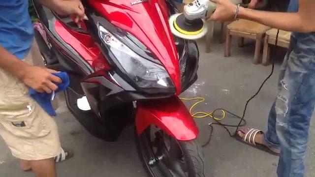 Các giữ màu sơn xe máy luôn mới - bền và đẹp