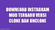 Download Instagram Mod Terbaru Versi Clone Dan Unclone