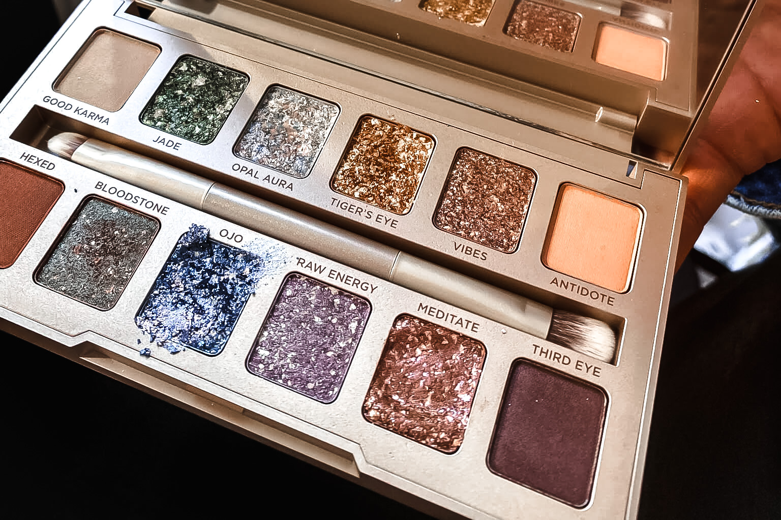 Urban Decay Stoned Palette swatch