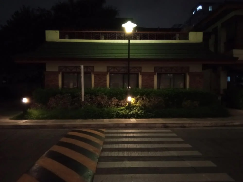 Xiaomi Redmi 9 Camera Sample - Night, PedXing, Primary