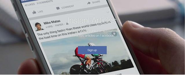 Cara Membuat dan Mempersiapkan Artikel Instan Facebook Untuk Blogger