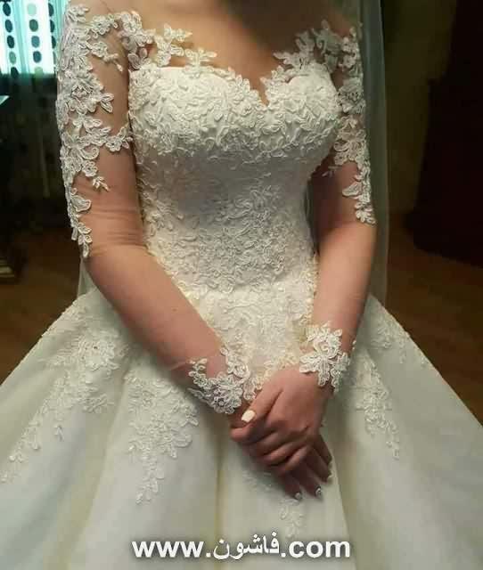 فساتين زفاف 2018 , فساتين افراح جديده , فساتين زفاف جديده